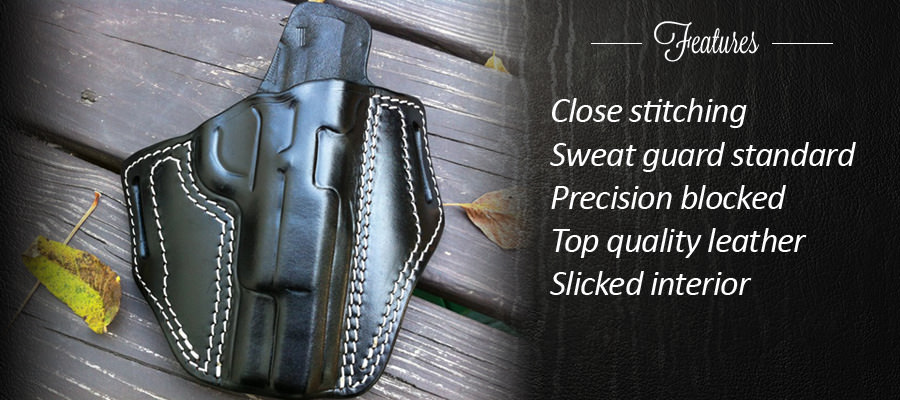 US GUNLEATHER - Custom leather concealment holsters and mag ...